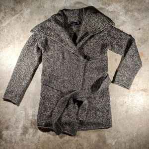 The Limited Wrap Front Long Belted Cardigan Sz S